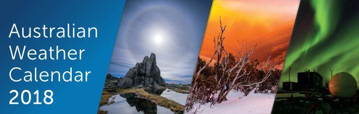 Australian Weather Calendar - Coming Soon